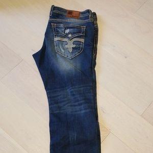 Rock revival mens jeans sz44